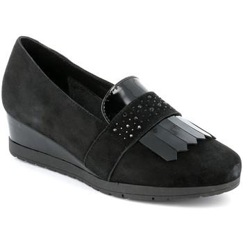 Sapatos Mulher Mocassins Grunland SC4786 Preto