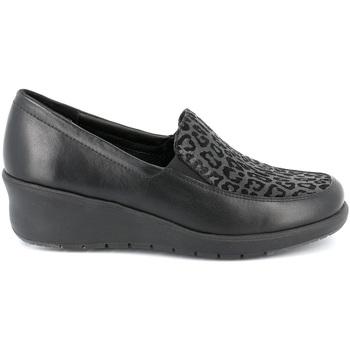 Sapatos Mulher Mocassins Grunland SC4778 Preto