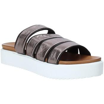 Sapatos Mulher Chinelos Grunland CI1517 Cinzento