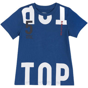 Textil Criança T-Shirt mangas curtas Chicco 09006586000000 Azul
