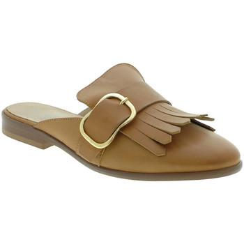 Sapatos Mulher Tamancos Mally 6116 Castanho