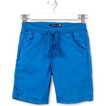 Textil Criança Shorts / Bermudas Losan 713 9665AA Azul