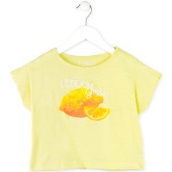 Textil Rapariga T-Shirt mangas curtas Losan 714 1211AB Amarelo