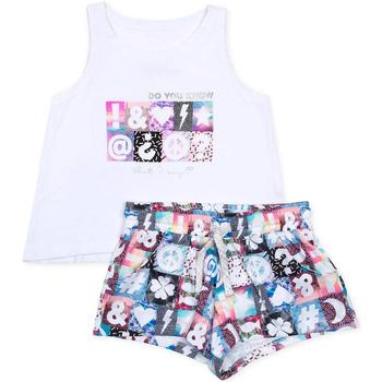 Textil Rapariga Conjunto Losan 714 8000AB Branco