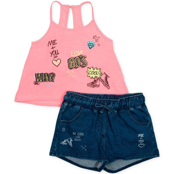 Textil Rapariga Conjunto Losan 714 8010AB Rosa