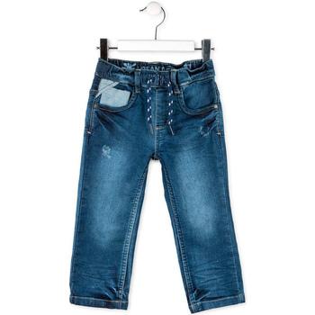 Textil Criança Calças Jeans Losan 715 6012AC Azul