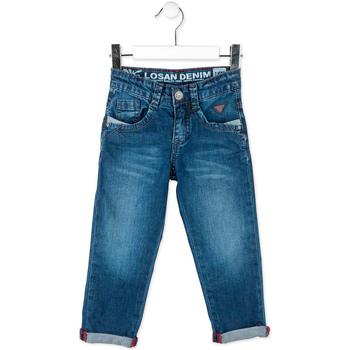 Textil Criança Calças Jeans Losan 715 9016AC Azul