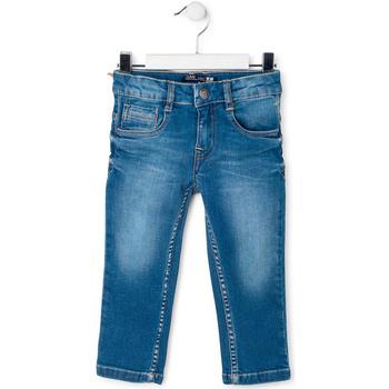 Textil Criança Calças de ganga slim Losan 715 9664AC Azul