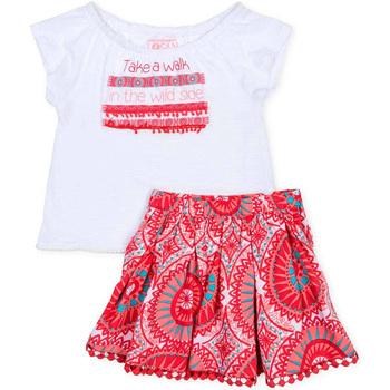 Textil Rapariga Conjunto Losan 716 8010AD Branco