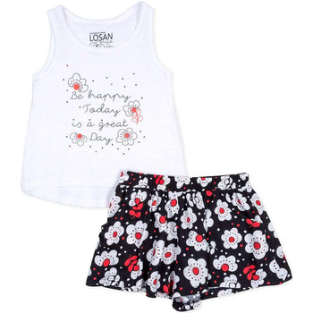 Textil Rapariga Conjunto Losan 716 8013AD Branco