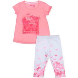 Textil Rapariga Conjunto Losan 716 8014AD Rosa