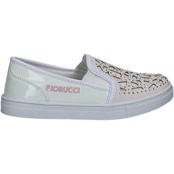 Sapatos Rapariga Sapatilhas Fiorucci FKEO044 Branco
