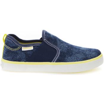 Sapatos Rapaz Slip on Geox J72A7P 0GI54 Azul