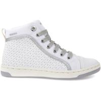 Sapatos Criança Sapatilhas de cano-alto Geox J72L5H 05411 Branco