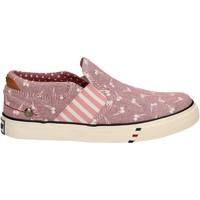 Sapatos Rapariga Slip on Wrangler WG17121 Rosa