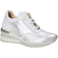 Sapatos Mulher Sapatilhas Exton E06 Prata