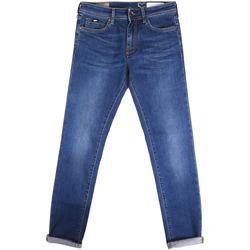 Textil Homem Calças de ganga slim Gas 351177 Azul