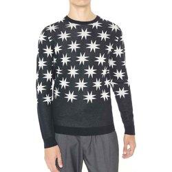 Textil Homem camisolas Antony Morato MMSW00742 YA400006 Preto