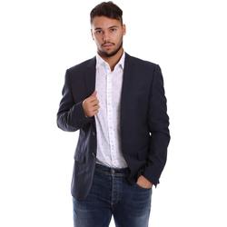 Textil Homem Casacos/Blazers Antony Morato MMJA00314 FA600040 Azul