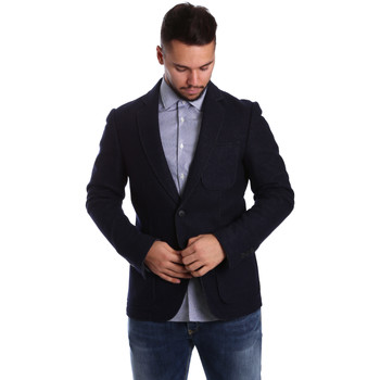Textil Homem Casacos/Blazers Antony Morato MMJA00322 FA500034 Azul
