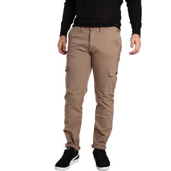 Textil Homem Calça com bolsos Gaudi 721BU25019 Bege