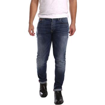 Textil Homem Calças de ganga slim 3D P3D1 2659 Azul