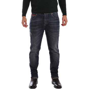 Textil Homem Calças de ganga slim 3D P3D1 2667 Azul