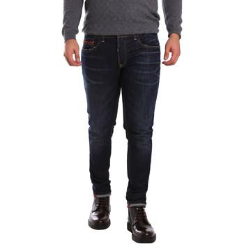Textil Homem Calças de ganga slim 3D P3D6 2659 Azul