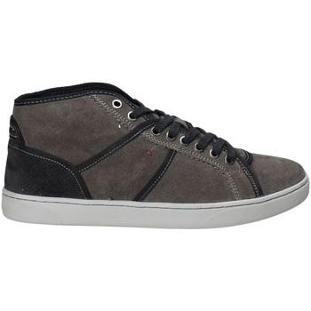Sapatos Homem Sapatilhas de cano-alto Wrangler WM172113 Cinzento