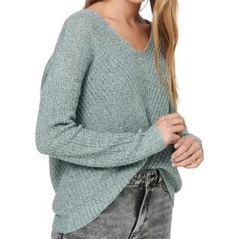 Textil Mulher camisolas Jacqueline De Yong  Verde