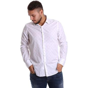 Textil Homem Camisas mangas comprida Gmf 972156/03 Branco