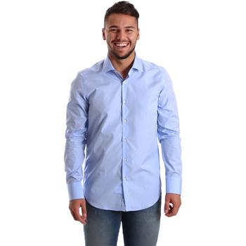 Textil Homem Camisas mangas comprida Gmf 972900/03 Azul