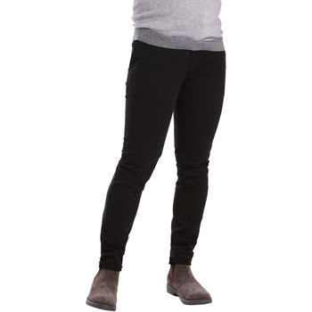 Textil Homem Chinos Sei3sei PZV21 7275 Preto