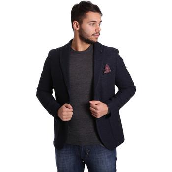 Textil Homem Casacos/Blazers Sei3sei PZG12 7296 Azul