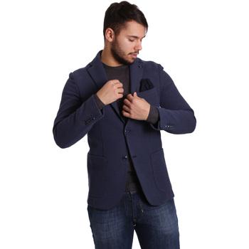 Textil Homem Casacos/Blazers Sei3sei PZG9 7290 Azul