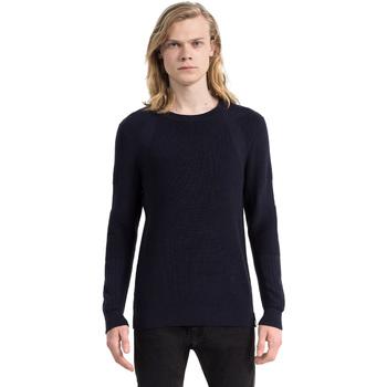 Textil Homem camisolas Calvin Klein Jeans J30J305473 Azul