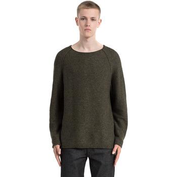 Textil Homem camisolas Calvin Klein Jeans J30J305476 Verde