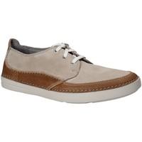 Sapatos Homem Sapatilhas Clarks 132568 Castanho