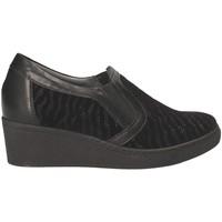 Sapatos Mulher Mocassins Grunland SC3525 Preto