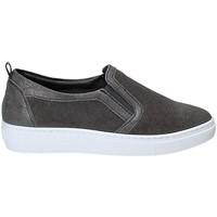 Sapatos Mulher Slip on Grunland SC3617 Cinzento