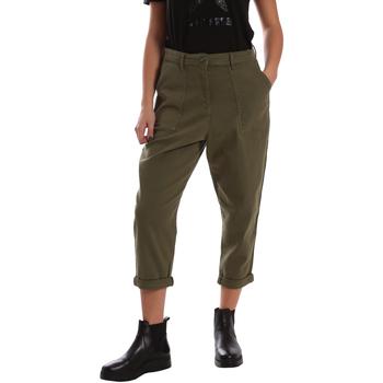 Textil Mulher Chinos Tommy Hilfiger DW0DW02588 Verde