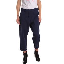 Textil Mulher Chinos Tommy Hilfiger DW0DW02588 Azul