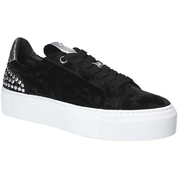 Sapatos Mulher Sapatilhas Janet Sport 40912 Preto