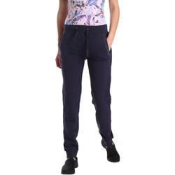Textil Mulher Calças de treino Key Up GE42 0001 Azul