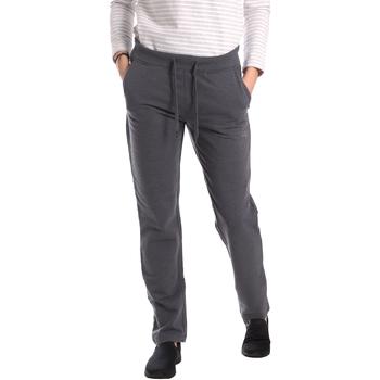 Textil Mulher Calças de treino Key Up GE31 0001 Cinzento