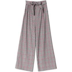 Textil Mulher Calças finas / Sarouels Denny Rose 721DD20029 Preto