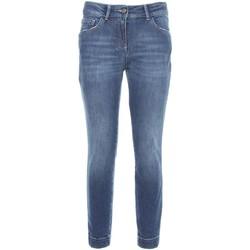 Textil Mulher Calças de ganga slim NeroGiardini A760110D Azul
