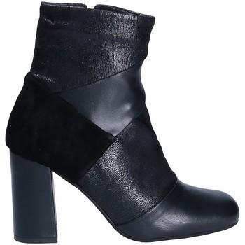 Sapatos Mulher Botins Keys 7173 Preto