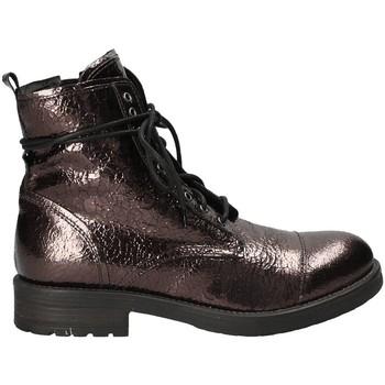 Sapatos Mulher Botas baixas Mally 5038 Castanho