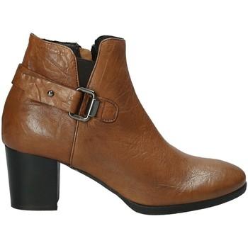 Sapatos Mulher Botins Mally 5404 Castanho